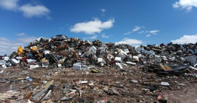 Collection and utilization of LFG at MSW landfills of Lugansk city