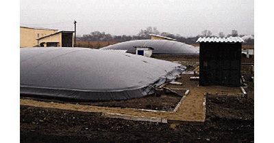 (EN) Construction of biogas plant at pig-breeding farm in Yelenovka village