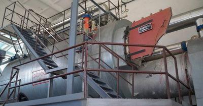 Разработка технических решений по реконструкции котла SELNIKEL (Турция), который работает на лузге подсолнечника