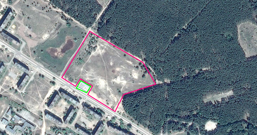Construction of CHP or boiler house for use of agricultural biomass fuels for  district heating in Kupiansk city (Kivsharivka town)