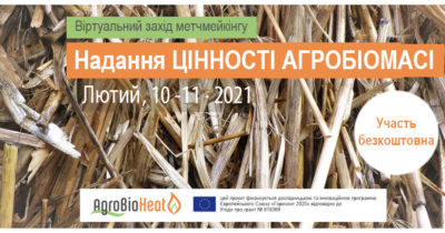 Virtual matchmaking event: «Bringing VALUE to AGROBIOMASS»
